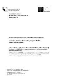 FEU MHMP - Fondy EU v Praze