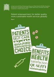 APPG Patient Empowerment Report