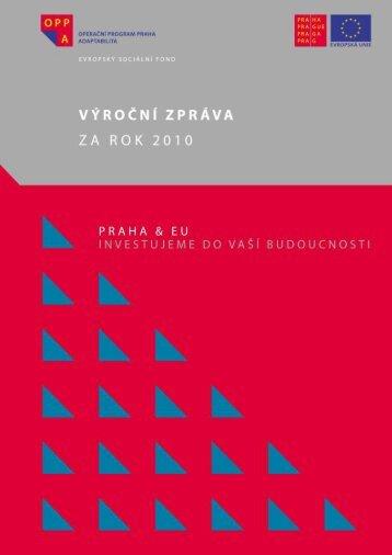 VÝROČNÍ ZPRÁVA - Fondy EU v Praze