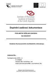 Doplneni_zadavaci_dokumentace_-_VR-1 ... - Fondy EU v Praze