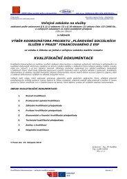 KD_MHMP_koordinator_Komunitni_planovani ... - Fondy EU v Praze