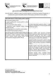 odůvodnění VZ Fondy EU 150413 fin - Fondy EU v Praze