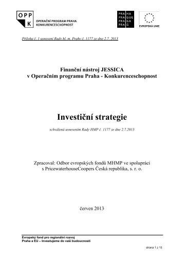 Přílohy: investicni_strategie.pdf - Fondy EU v Praze