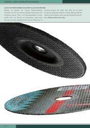 Eisenblätter TRIMFIX Zircopur Fächerschleifscheibe Ø 125 x 22 mm K40 91524