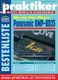 Panasonic DMP-BD35: Blu-ray-Disc-Player - ITM ... - Praktiker.at