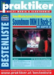 Soundman OKM II Rock-S mit Adapter A3: Stereo ... - Praktiker.at