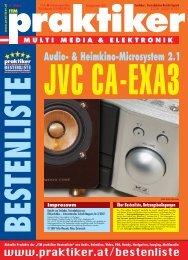 Testbericht JVC CA-EXA3 aus - Praktiker.at