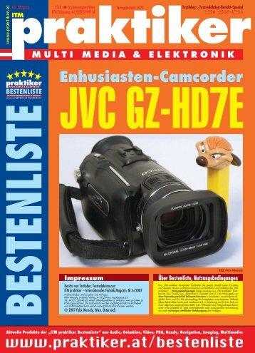 JVC GZ-HD7E: Enthusiasten-Camcorder - ITM ... - Praktiker.at