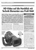 JVC GZ-HD7E: Enthusiasten-Camcorder - ITM ... - Praktiker.at - Seite 2