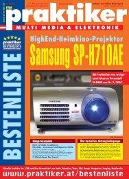 Samsung SP-H710AE: HighEnd-Heimkino-Projektor ... - Praktiker.at