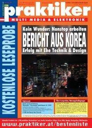 Samsung, LG: Erfolg mit Ehe Technik & Design ... - Praktiker.at