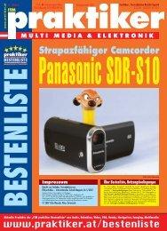 Panasonic SDR-S10: Strapazfähiger ... - Praktiker.at