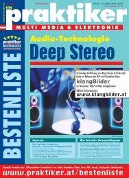 Testbericht Deep Stereo aus