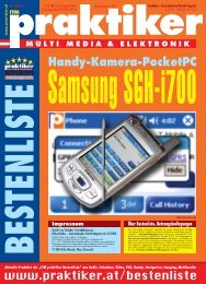 Samsung SGH-i700: Handy-Kamera-PocketPC - ITM ... - Praktiker.at