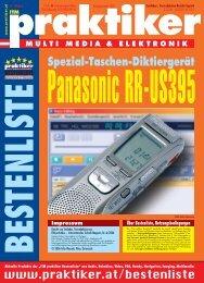 Panasonic RR-US395: Spezial-Taschen-Diktiergerät ... - Praktiker.at