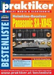 Panasonic SA-XR45: Heimkino-Receiver - ITM ... - Praktiker.at