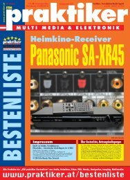 Panasonic SA-XR45: Heimkino-Receiver - ITM ... - Praktiker.at