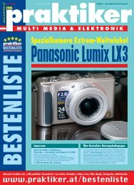 Panasonic Lumix LX3 [PDF] - Praktiker.at