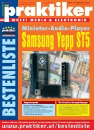 Samsung Yepp ST5: Miniatur-Audio-Player - ITM ... - Praktiker.at