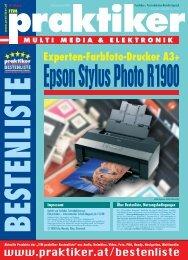 Epson Stylus Photo R1900: Experten-Farbfoto-Drucker ... - Praktiker.at