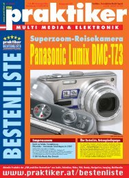 Testbericht Panasonic Lumix DMC-TZ3 aus