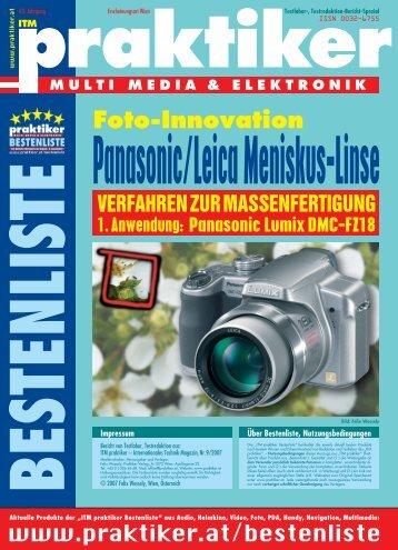 Panasonic Lumix DMC-FZ18 - Praktiker.at