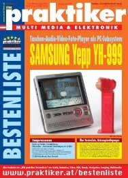 SAMSUNG Yepp YH-999: Taschen-Audio-Video-Foto ... - Praktiker.at
