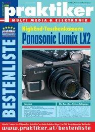 Panasonic Lumix LX2: HighEnd-Taschenkamera - ITM ... - Praktiker.at