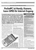 Samsung SGH-i700: Handy-Kamera-PocketPC - ITM ... - Praktiker.at - Seite 2