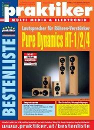Pure Dynamics HT-1/2/4: Lautsprecher für Röhren ... - Praktiker.at