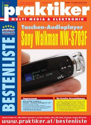 Sony Walkman NW-S703F: Taschen-Audioplayer - ITM ... - Praktiker.at