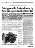 Canon PowerShot S5 IS: Konvergenzkamera Foto ... - Praktiker.at - Page 2