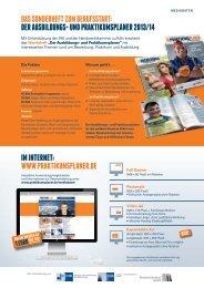 Mediadaten als PDF - Der Praktikumsplaner