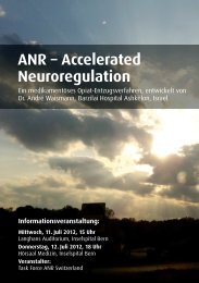 ANR – Accelerated Neuroregulation
