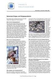 Zeitung_23a Grippe-pandemie 2007-09-25 - Praxis Brunnenhof ...