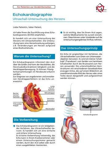 Echokardiographie - praxis-heuer-dercken.de