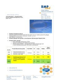 Download Produktinformationen - Praxisbedarf-bestellen.de