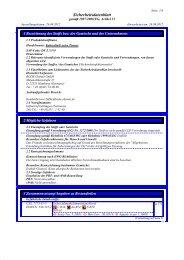 Sicherheitsdatenblatt für die Kohrsolin extra Tissues - Praxisdienst
