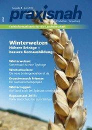 Winterweizen - Praxisnah