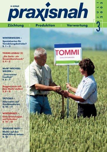 praxisnah Ausgabe 03/2003, PDF, 1.3 MB