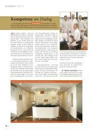 Kompetenz im Dialog - Zahnärztliches Praxiszentrum in Aachen