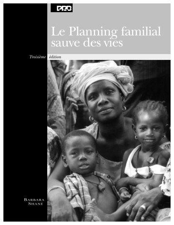 Le planning familial sauve des vies - Population Reference Bureau