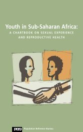 Youth in Sub-Saharan Africa - Population Reference Bureau