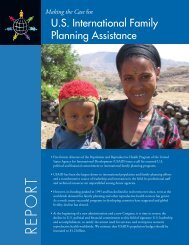 Making the Case for International Family Planning Assistance