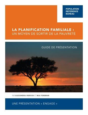 La Planification familiale : un moyen de sortir de la pauvreté | Guide ...