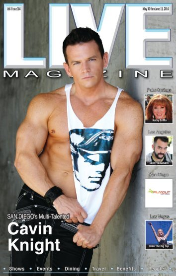 LIVE MAGAZINE VOL 8, Issue 184 MAY 30 thru June 13, 2014