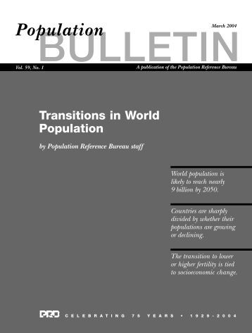 How life tables work abri - Population reference bureau ...