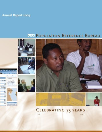 PDF: 2.1MB - Population Reference Bureau