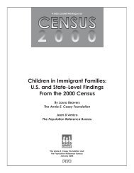 Children in Immigrant Families: U.S. and State-Level Findings From ...