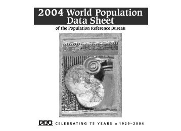2004 WPDS GS 11x8 FINAL - Population Reference Bureau